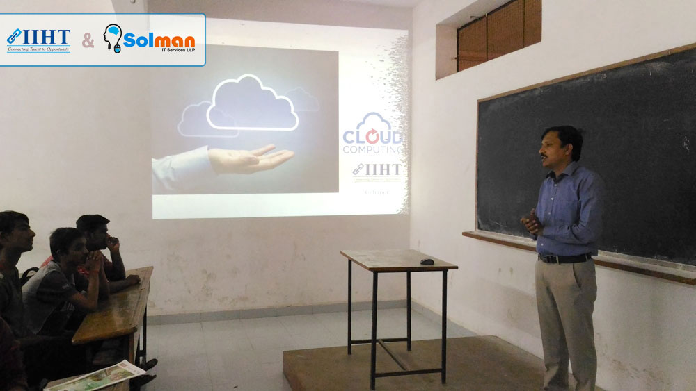 Dr.Bapuji Salunkhe Institute of Engineering & Technology - Seminar on Cloud Computing – 6 Aug 2016
